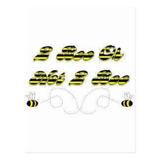 Abeja 2 abeja o no 2 postales