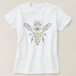 abeja adornada de la miel camiseta