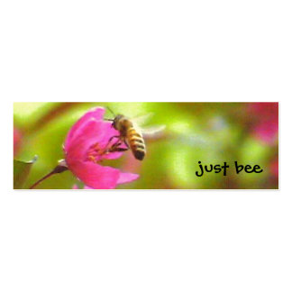 Abeja de Beeing de la abeja Tarjetas De Visita Mini
