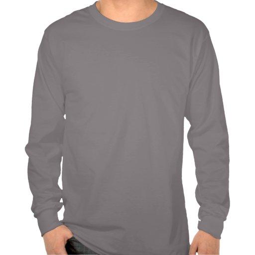 Abeja de Bugzter una manga larga de Mostacho Camiseta