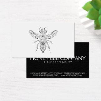abeja de la belleza tarjeta de negocios