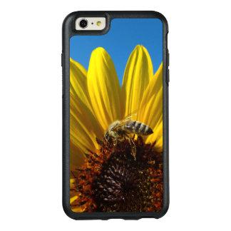Abeja de la miel en la caja de la foto del girasol funda otterbox para iPhone 6/6s plus