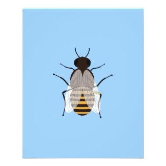 Abeja de la miel folleto 11,4 x 14,2 cm