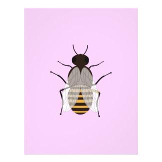 Abeja de la miel folleto 21,6 x 28 cm