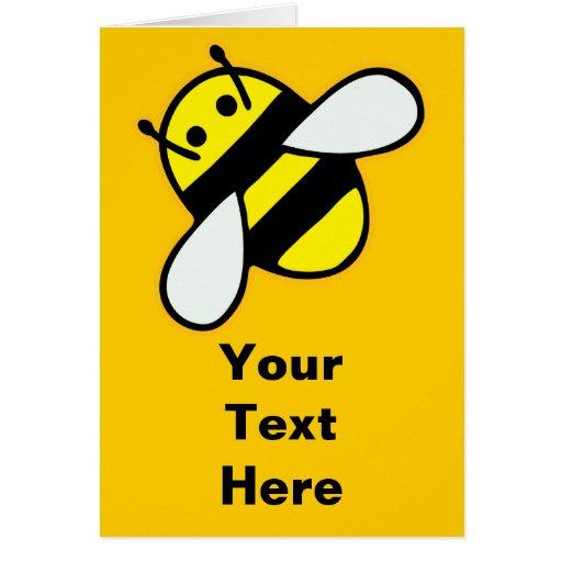 abeja de la miel felicitaciones