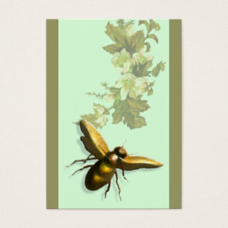 Abeja de la miel tarjeta de visita