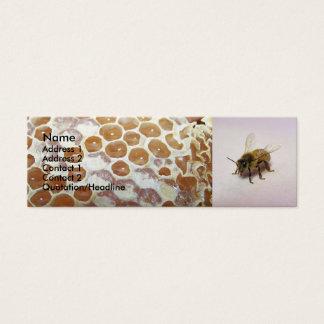 Abeja de la miel tarjeta de visita pequeña