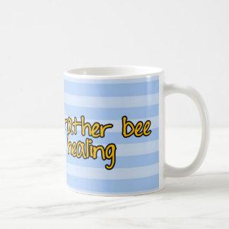 abeja de trabajador - doctor taza básica blanca