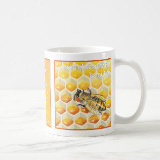 Abeja del La, taza de café