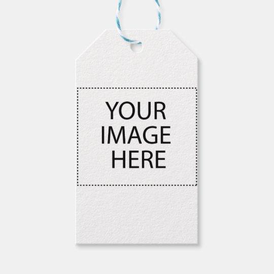 Abeja en un cardo de lanza etiquetas para regalos