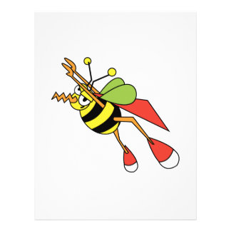 abeja estupenda folleto 21,6 x 28 cm