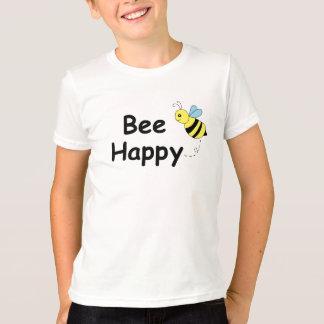 Abeja feliz camiseta