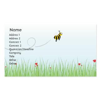 Abeja - negocio tarjeta personal