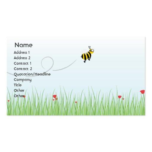 Abeja - negocio plantillas de tarjeta de negocio