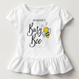 Abeja ocupada camiseta de bebé