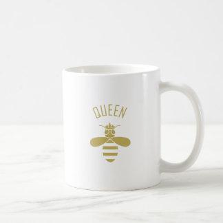 Abeja reina taza de café