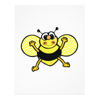 abeja tonta folleto 21,6 x 28 cm