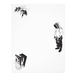 Abejas de polinización folleto 21,6 x 28 cm