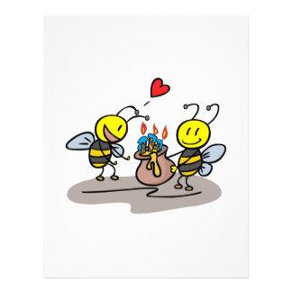 abejas felices folleto 21,6 x 28 cm