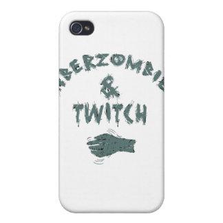 Aberzombie y contracción nerviosa iPhone 4/4S carcasas