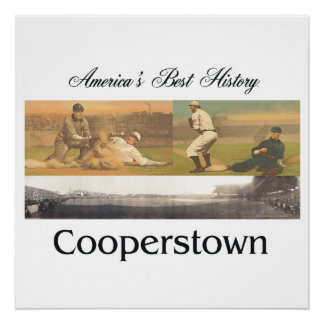 ABH Cooperstown Perfect Poster