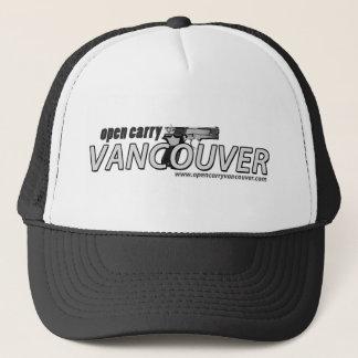 Abierto lleve el gorra del camionero de Vancouver