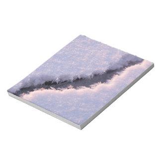 Abismo congelado bloc de notas