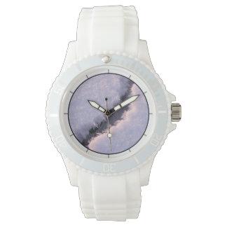 Abismo congelado reloj de pulsera