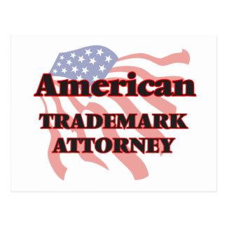 Abogado americano de la marca registrada postal