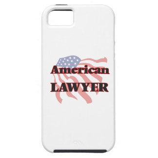 Abogado americano iPhone 5 protectores
