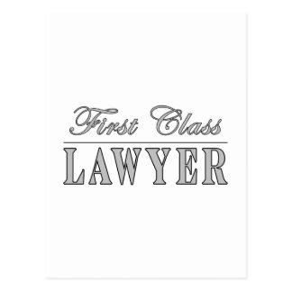 Abogado de la primera clase de los abogados postal