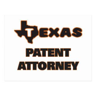 Abogado de patentes de Tejas Postal