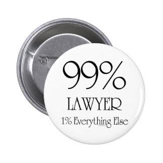 Abogado del 99% pin