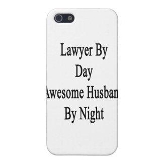 Abogado del marido impresionante del día por noche iPhone 5 carcasa
