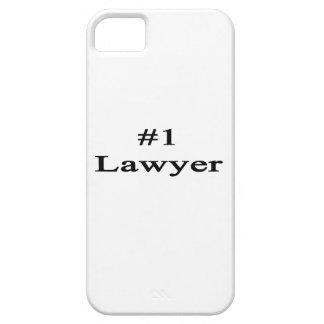 Abogado del número 1 iPhone 5 carcasa