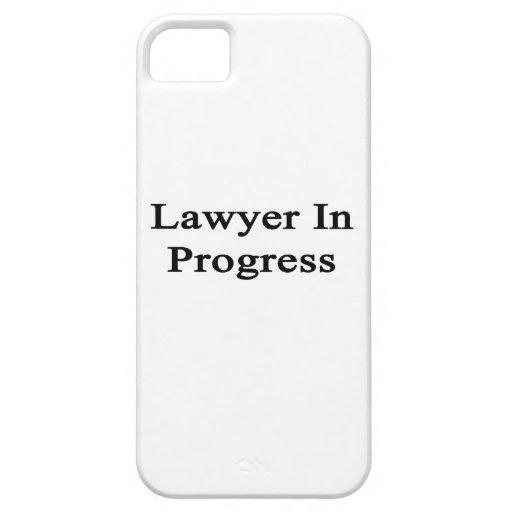 Abogado en curso iPhone 5 Case-Mate funda