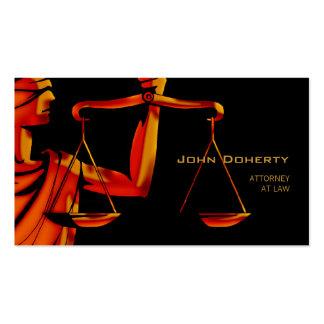 Tarjetas de visita para abogados