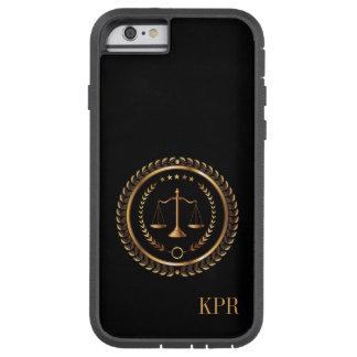 Abogado, legal, caso del iPhone 6 del juez - SRF Funda De iPhone 6 Tough Xtreme