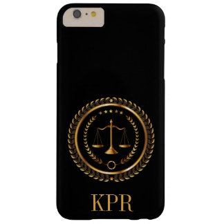 Abogado, legal, caso del iPhone 6 del juez - SRF Funda De iPhone 6 Plus Barely There