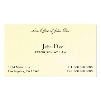 Abogado limpio - asesoría jurídica tarjetas de visita