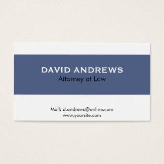 Abogado - tarjetas de visita