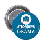 Abogados para Obama Pin