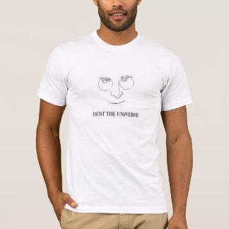 Abolladura de Steve Jobs la camiseta de la cita