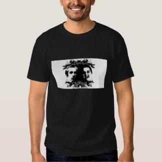 Abra el negro de canal T Camiseta