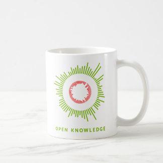 Abra la taza del conocimiento