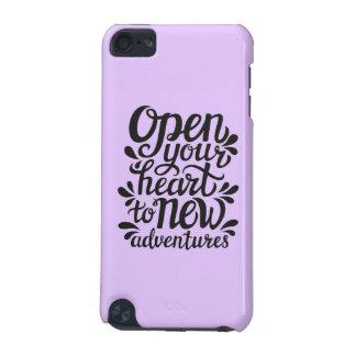 Abra su corazón en las nuevas aventuras carcasa para iPod touch 5G