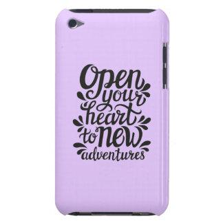 Abra su corazón en las nuevas aventuras funda para iPod de Case-Mate