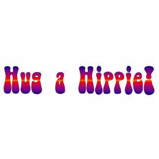 ¡Abrace a un Hippie! Ornamento Escultura Fotografica