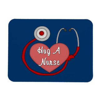 Abrace a una enfermera imanes flexibles