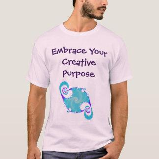Abrace su camisa creativa del propósito